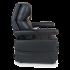 Fauteuil relax releveur 2 moteurs noir simili cuir ou velours noir grandes tailles Maxi Flex