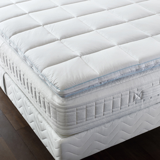 surmatelas m moire de forme bdreams en coton vilacosy. Black Bedroom Furniture Sets. Home Design Ideas