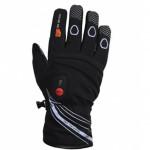 Gants chauffants RACE noirs ski, parapente, VTT
