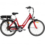 Vélo Electrique NEOMOUV Carlina freins patins 580Wh Autonomie 100km