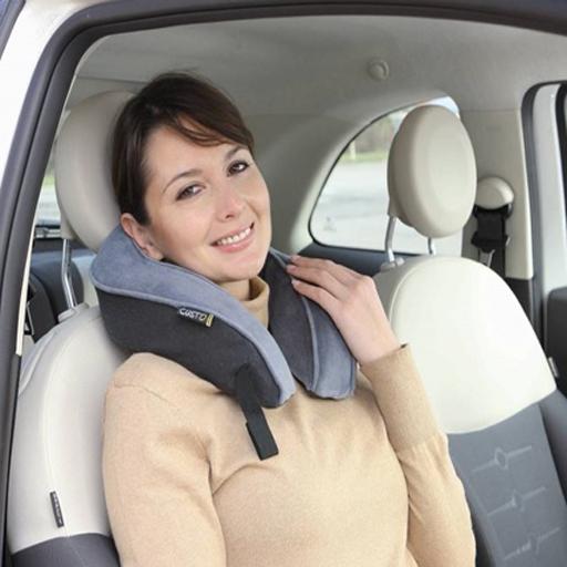 coussin ergonomique cale nuque m moire de forme pour les transports vilacosy. Black Bedroom Furniture Sets. Home Design Ideas