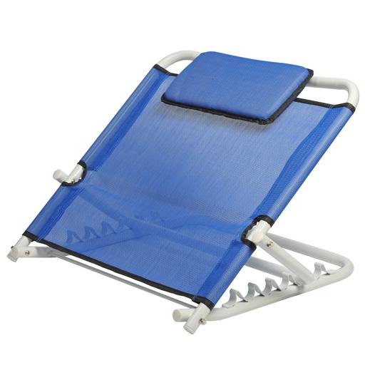 appui dos inclinable bleu avec coussin kinetec vilacosy. Black Bedroom Furniture Sets. Home Design Ideas