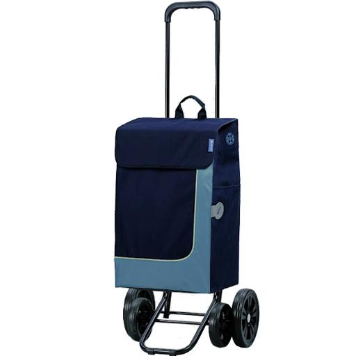 chariot de courses bleu 49l isotherme 4 roues andersen vilacosy. Black Bedroom Furniture Sets. Home Design Ideas