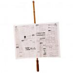 Porte-Journal en bois de hêtre véritable