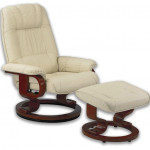Fauteuil Relaxation Manuel Massant Chauffant cuir NEW EXQUI MAS