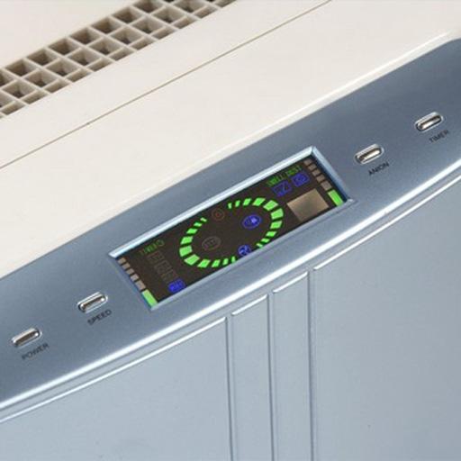 purificateur d 39 air avec filtre antipollution lanaform. Black Bedroom Furniture Sets. Home Design Ideas