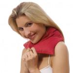 Coussin chauffant ou rafraîchissant pour le cou