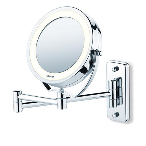 Miroir grossissant éclairé, mural et posable